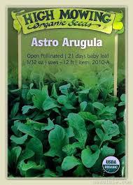 high mowing arugula arugula s growing needs