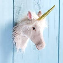 magical unicorn head wall decoration decor diy