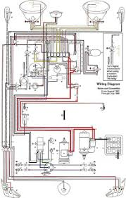 auto wiring diagram  this wiring diagram for 1962 1965 vw beetle click the picture to and click here to key diagra