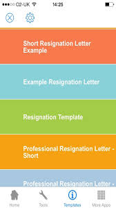 Examples Of Resign Letters Amazon Com Resignation Letter Sample Templates And Examples Of