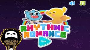 cartoon network games the amazing world of gumball rhythmic romance