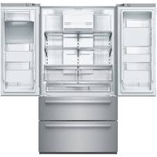bosch counter depth refrigerator reviews. Brilliant Refrigerator Bosch  800 Series 207 Cu Ft 4Door French Door CounterDepth  Refrigerator Stainless Steel At Pacific Sales On Counter Depth Reviews D