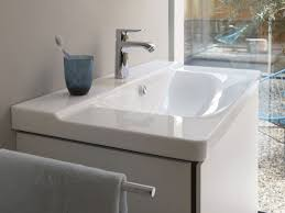 Duravit Bathroom Sink P3 Comforts Washbasin With Integrated Countertop By Duravit