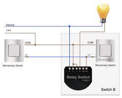 apnt 92 2 way lighting using fibaro relays vesternet fibaro relay installed in a 2 wire 2 way system