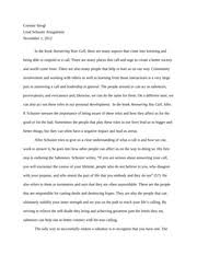 envision your future essay corinne stingl intro to leadership 7 pages lead answer your call paper