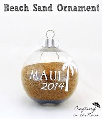 i love ornaments that tell a story don t you this one will remind me of our maui trip we took this year before we left on the last day