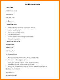 Sample Car Salesman Resumes 12 13 Car Salesman Resume Objective Tablethreeten Com