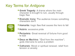 antigone greek tragedy key terms for antigone  greek tragedy a  antigone greek tragedy 2 key