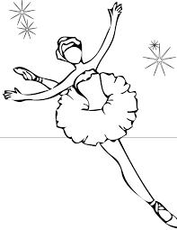 Small Picture Ballet Coloring Page Handipoints