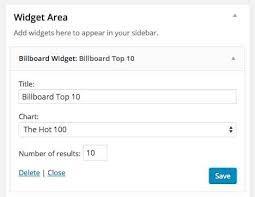 Top Music Charts Widget Plugin Wordpress Download Install