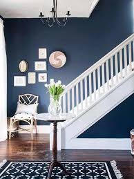 This Blue Hue Is To-die For! Use This Color Staple In Any Room Of The House  Next Time You Redecorate. Painting Made Easy! Navy Bedroom Colors Pinterest