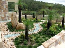 Round rock gardens Garden Path Beautiful Garden With Minimal Maintenance Required Rock Landscaping Royal Botanical Gardens What Are The Benefits Of Having Rock Garden Outside Your Home