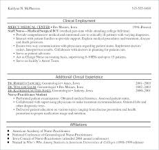 Sample Nurse Practitioner Resume Bsn Resume Sample Free Enrolled