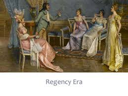 Regency Interior Design Painting Impressive Decoration