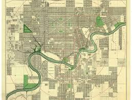 the edmonscona plan edmonton city as museum project ecamp Maps Edmonton driscoll and knight map of the city of edmonton 1912 image courtesy of the city maps edmonton alberta canada
