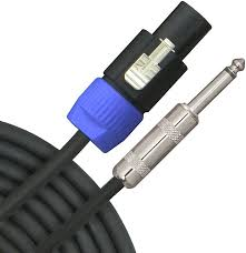 speaker cable wiring diagram Speakon To 1 4 Inch Wiring Diagram buying guide how to choose the right audio cables the hub Speakon NL4FX Wiring