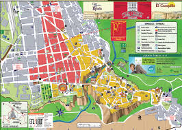 maps update  tourist map of ronda spain – ronda spain