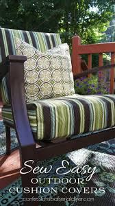 diy outdoor furniture cushions. Sewing Your Own Outdoor Cushion Covers Is Easier Than You Think! Diy Furniture Cushions L