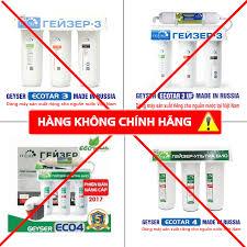 Cảnh báo hàng giả về máy lọc nước Geyser - Geyser Việt Nam