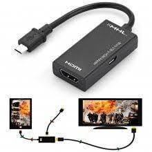 <b>gocomma Micro USB to</b> HDMI MHL Adapter | Hdmi, Kids electronics ...