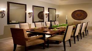 Accent Walls In Dining Room Dining Room Wall Decorating Ideas - Mirrors for dining room walls