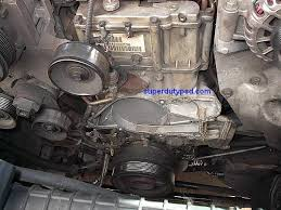 ford super duty water pump replacement procedure superdutypsd com water pump removed