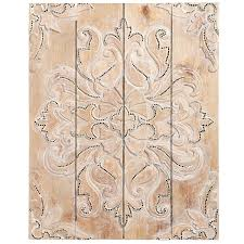 shop for a variety of unique wall art at pier 1 imports  on damask wood wall art with natural damask mosaic wall panel decor artwork pinterest