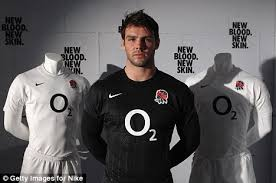 Support the english with our official range of england rugby union shirts and jerseys, including the new season england rugby shirt. England Reveal All Black Away Kit For World Cup In New Zealand Daily Mail Online