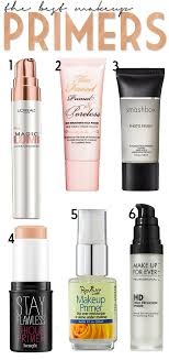 a great list of the best makeup primers beauty makeup