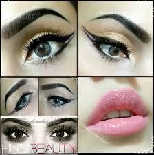 cute makeup ideas for dark brown eyes image