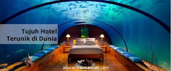 poseidon underwater hotel. Hotel Unik Dunia Artikel Asuransi Travel Simasnet Poseidon Underwater