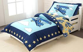 aviator crib bedding set exciting airplane themed toddler piece toys baby