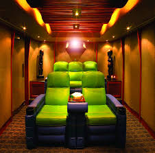 home theater ideas for small rooms. small home theater room ideas | green and purple crazy colors but love this for movie rooms