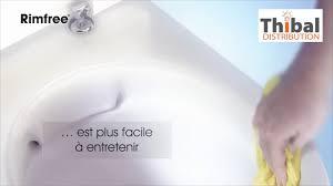 Thibal Distribution : WC sans bride, des WC faciles à nettoyer ...