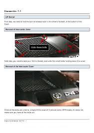 Toyota 1KD-FTV Common Rail Diesel Injector Installation Manual