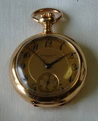 5520 birks antique 18k gold pendant watch circa 1911