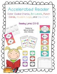 Accelerated Reader Ar Clip Charts Bin Labels Reading Logs And More