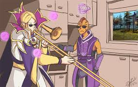 dota 2 when silencer is not home by ziaren on deviantart