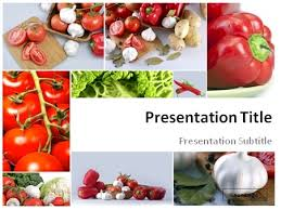 photo collage template powerpoint download collage of garden vegetables powerpoint template