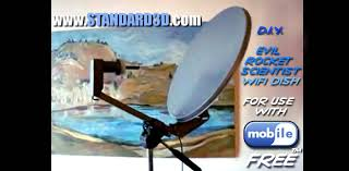 how to build a diy long range wireless usb free wifi antenna satellite dish booster tutorial 2016 you