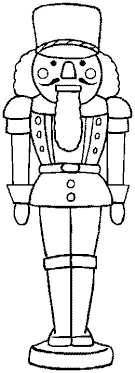 Small Picture Nutcracker Coloring Sheets colored for personal educational or