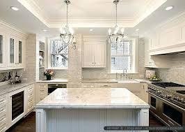 kitchen backsplashes for white cabinets kitchen white cabinets black