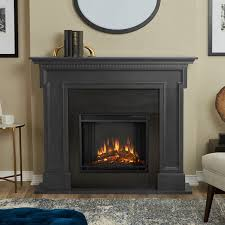 electric fireplace heater real flame thayer