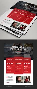 Multipurpose Flyer Price Designs Psd Template Media Sheet