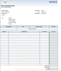 excel service free service invoice template excel pdf word doc service invoice