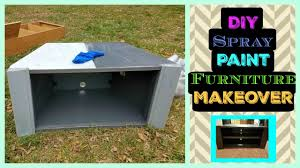 Spray Paint Furniture Furniture Makever