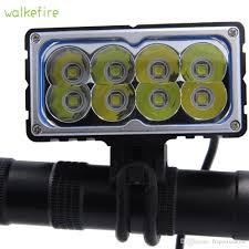 Xml U2 Bike Light 2019 Walkefire 8 X Xm L2 U2 Led Bicycle Light 9600lm 8xt6 Led Lamp Bike Light Lamp Frontlight 18650mah Battery Pack 121917 From Fzsportsonline