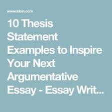 thesis statement tutorial write a thesis statement in easy 10 thesis statement examples to inspire your next argumentative essay essay writing