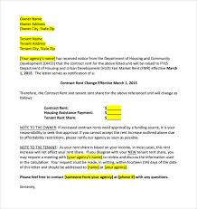 how to write a rent increase notice increase rent letter template gse bookbinder co