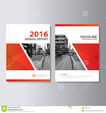 red vector annual report magazine leaflet brochure flyer template design book cover layout design